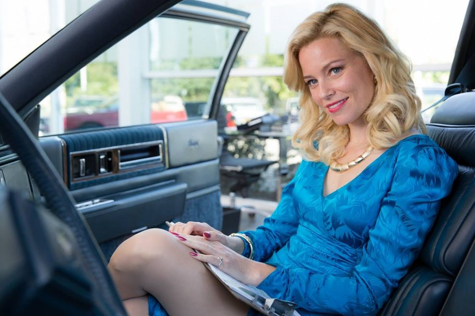 Elizabeth Banks as the world's most glamorous car dealer, and the love of Brian Wilson's life.