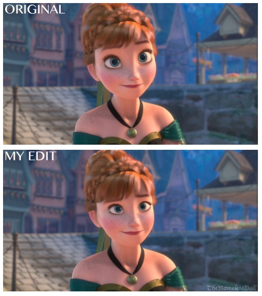 How Female Animated Characters Look With More Natural Features