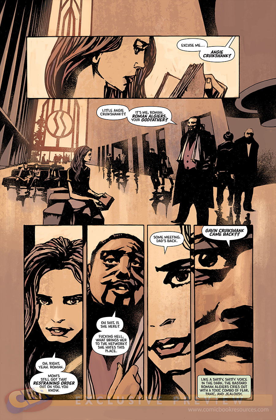 Brian Wood's Starve: get to your comic shop now!