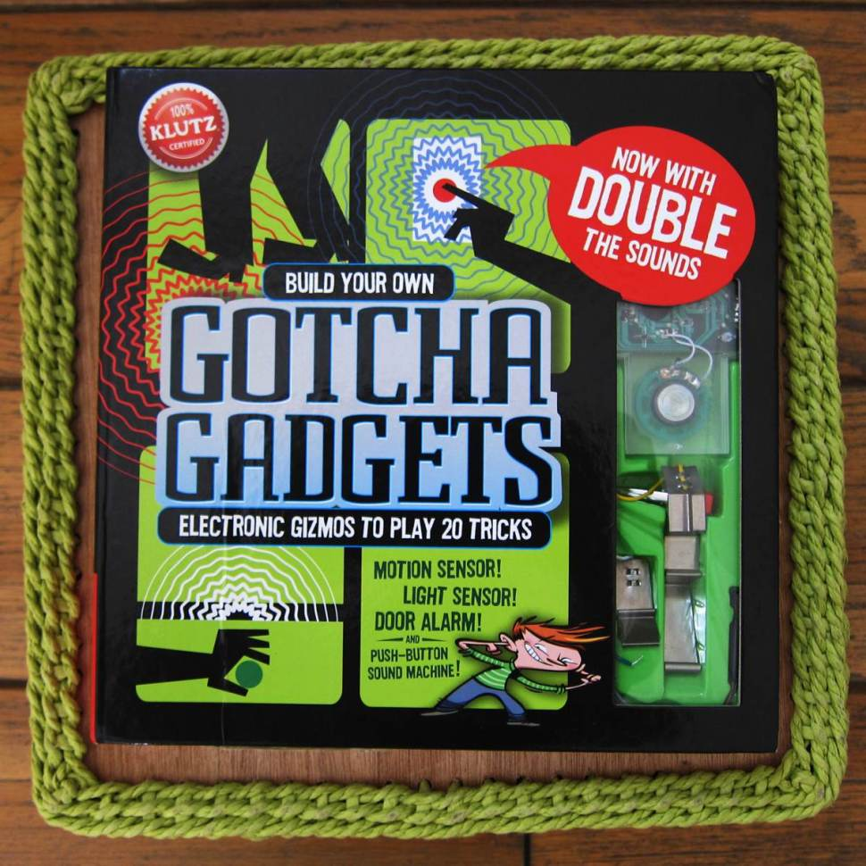 Gotcha Gadgets A Book With Built In Electronic Mischief Maker Circuit Boing