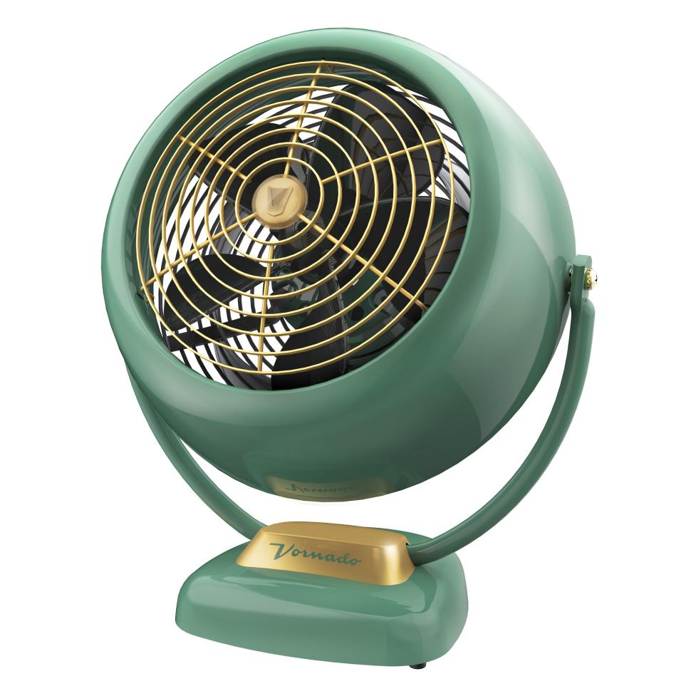 A vintage version is available, in red and green. Photos:  Vornado