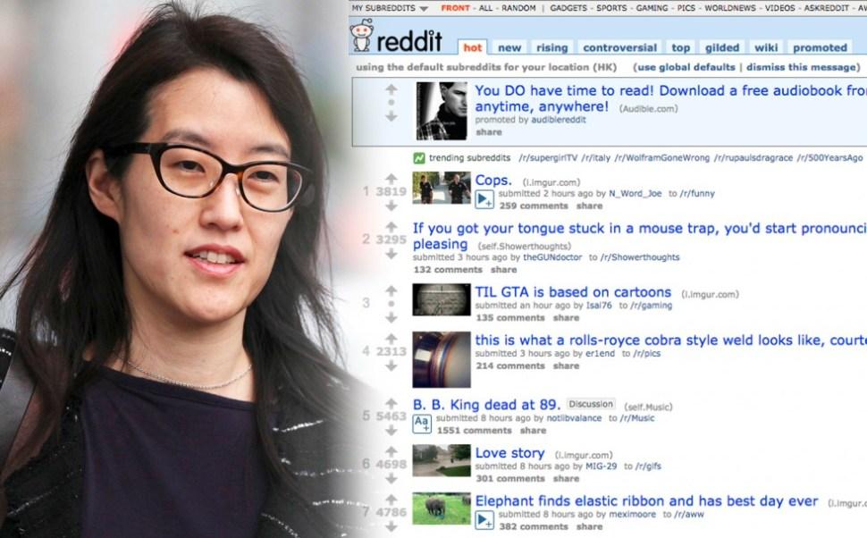 Funniest Memes 2015 Reddit : Reddit interim ceo ellen pao resigns. co founder steve huffman takes