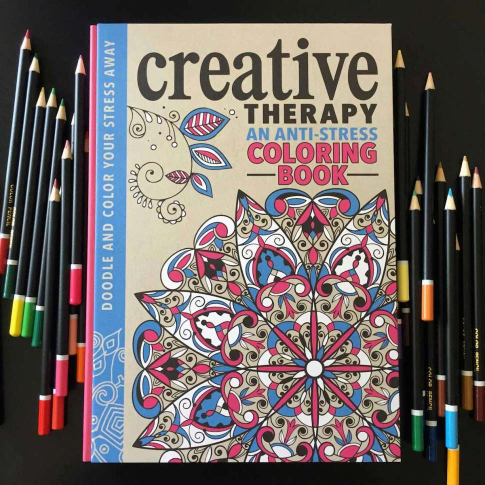 Anti Stress Coloring Book All Ages Can Enjoy This Old School
