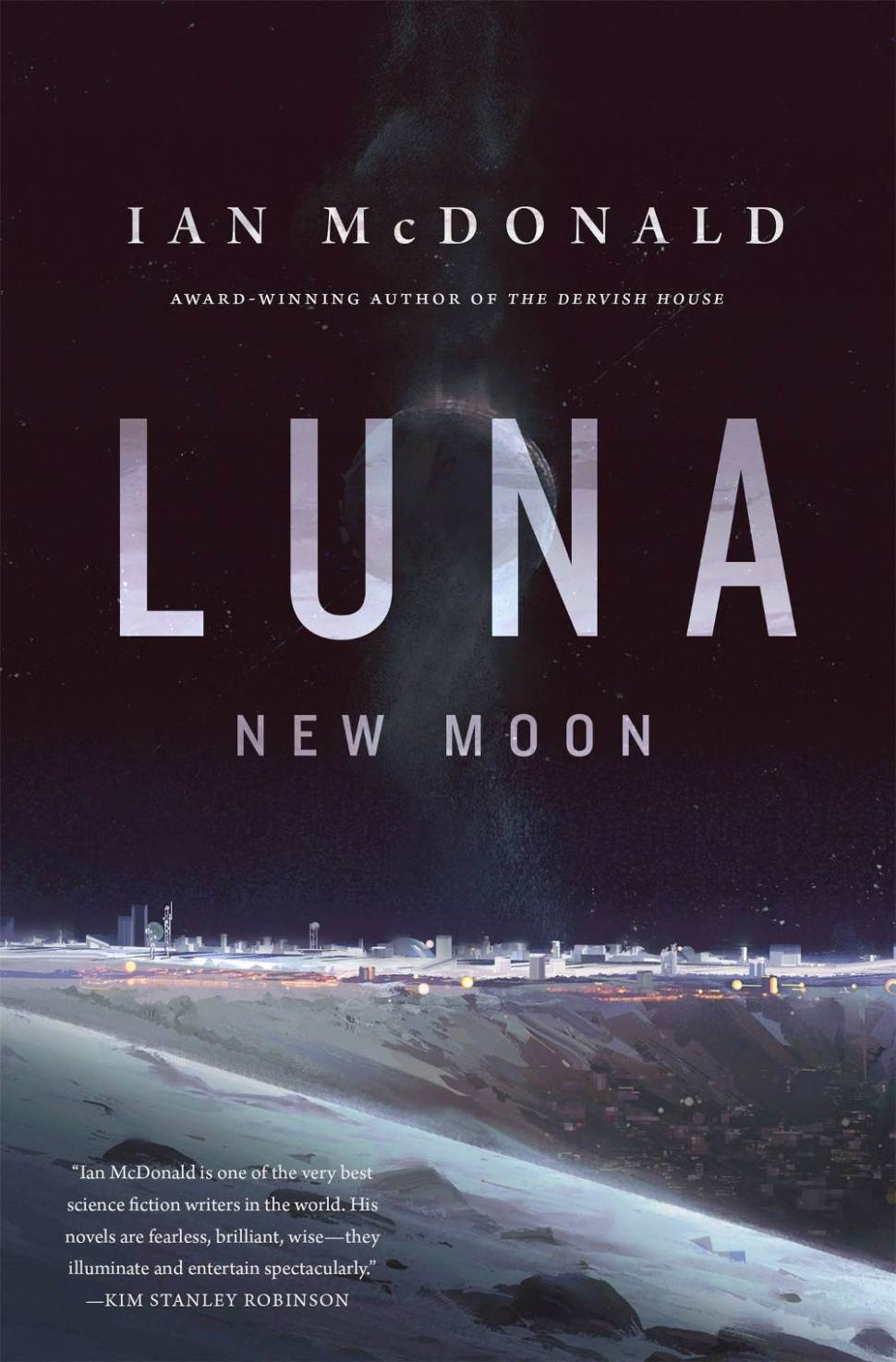 Podcast: Ian McDonald talks about Luna: New Moon (also coming to CBS!)