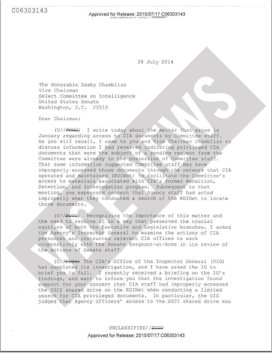 The apology letter Brennan never signed or sent.
