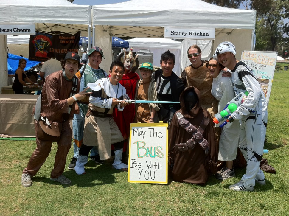 Starry Kitchen does Star Wars at the LA Food Fest