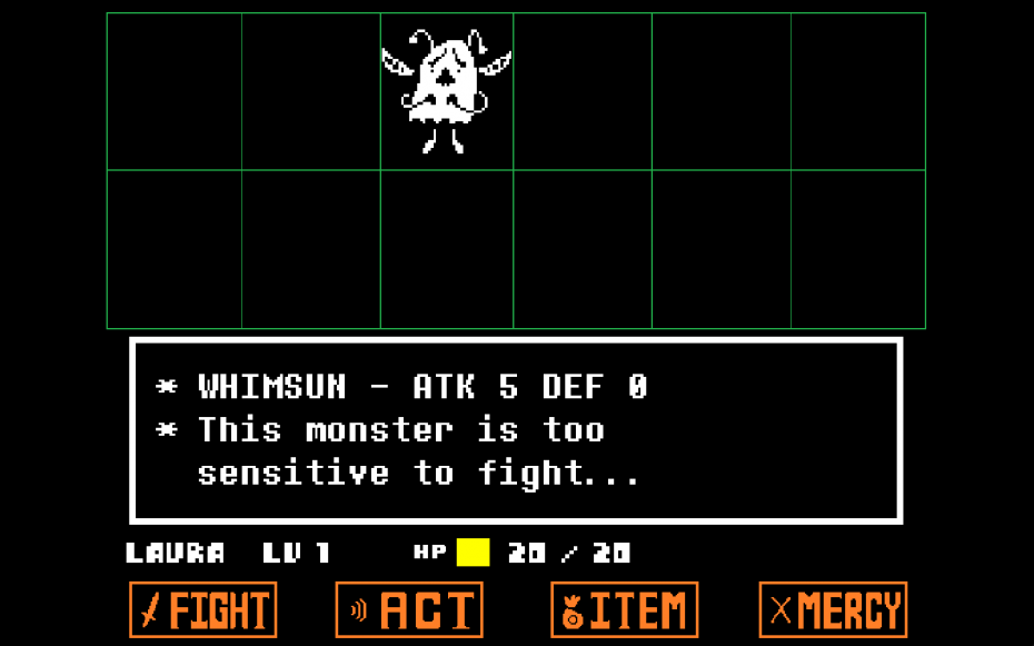 In Undertale, you can choose to kill monsters — or understand them