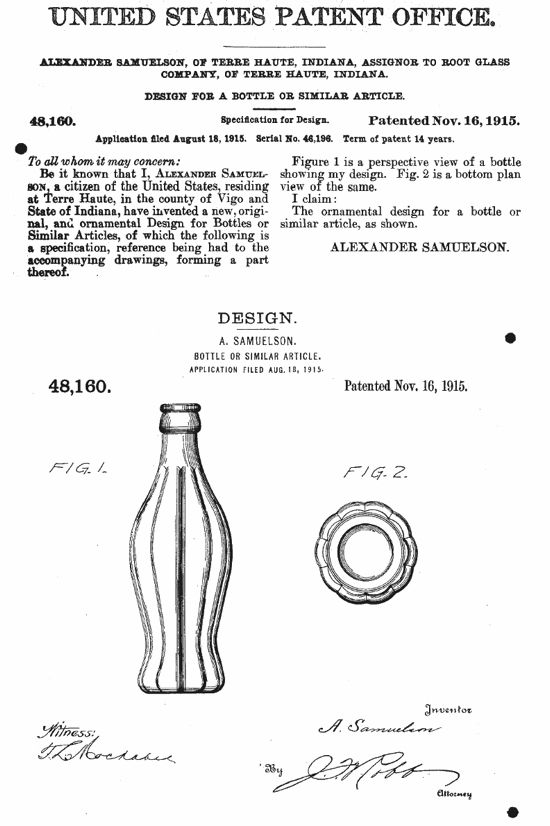 The Story Behind The Coke Bottle S Curves Boing Boing