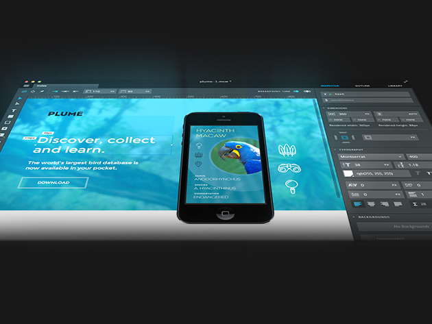 Draw gorgeous, responsive websites with the Macaw code-savvy web design tool: 72% off