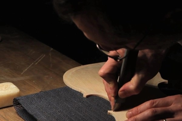Watching this video of a violin being made is very satisfying