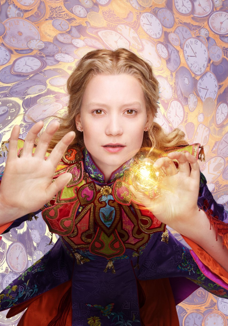 """Mia Wasikowska is Alice in """"Alice Through the Looking Glass."""""""