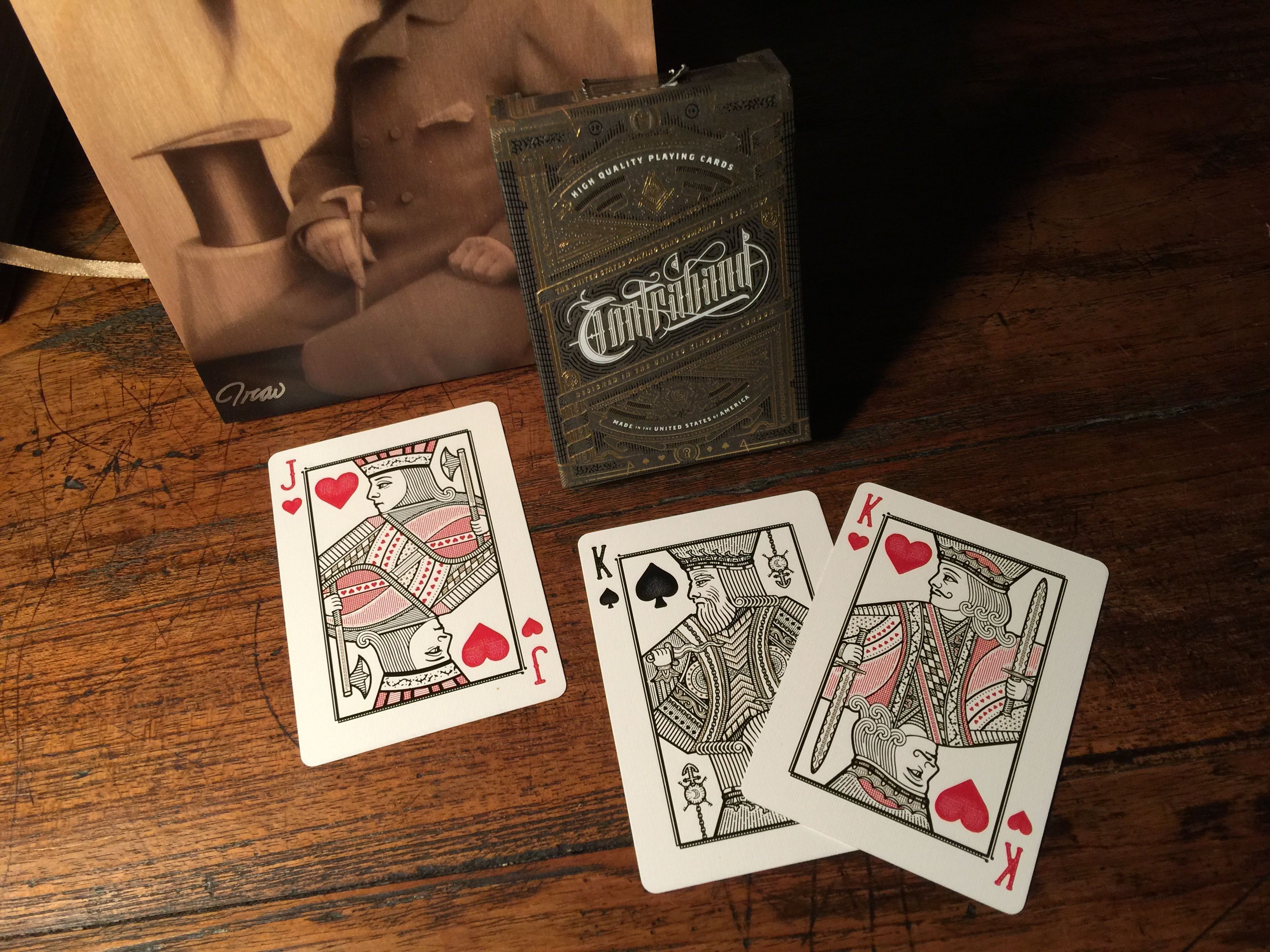 The Contraband Deck Tells A Subtle Story In Card Design Boing Boing