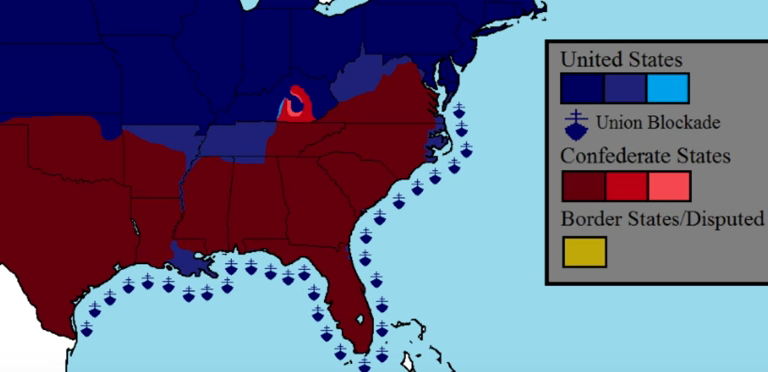 Animated map shows the Civil War\'s front lines in 5 minutes / Boing ...