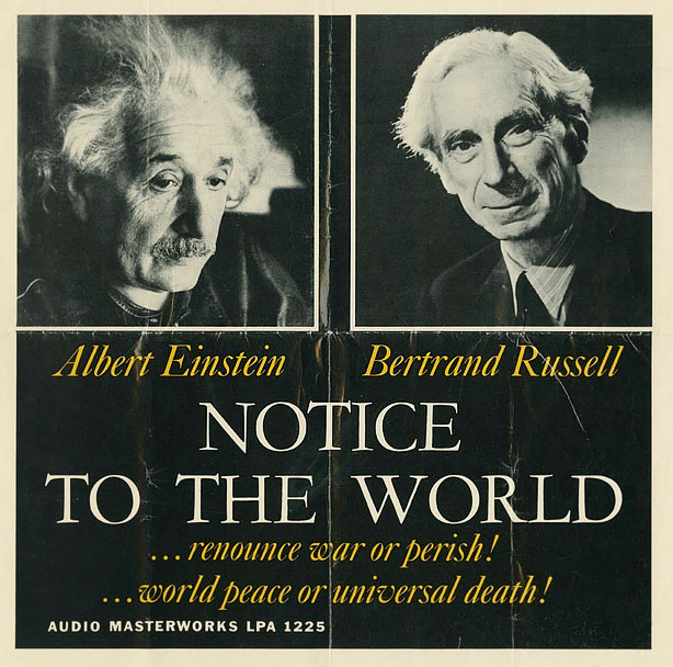 Bertrand Russel- Albert Einstein