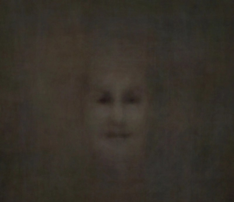 Composite face made with no human face as input