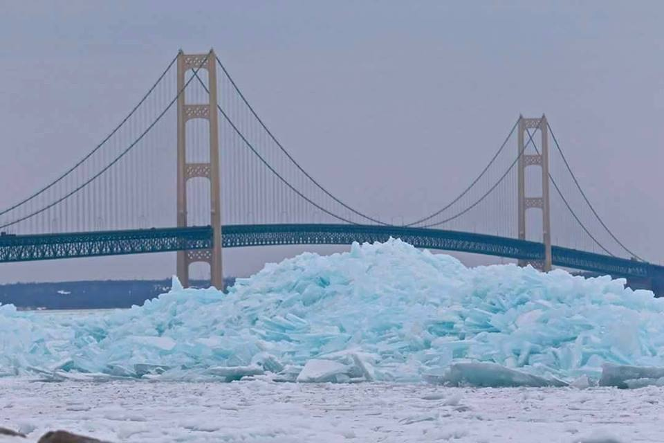 How To Get To Mackinac Island In The Winter