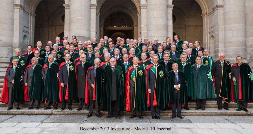 Photo of St. Hubertus members courtesy iosh-usa.com