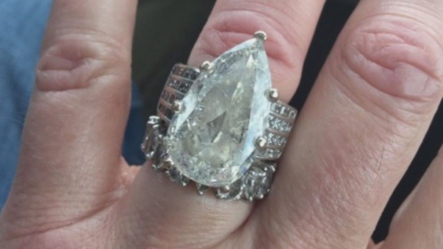 Woman loses engagement ring finds it 13 years later wrapped around