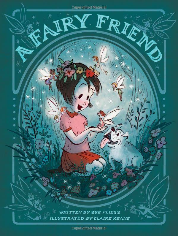 A Fairy Friend: storybook illustrated by a Disney animation legend