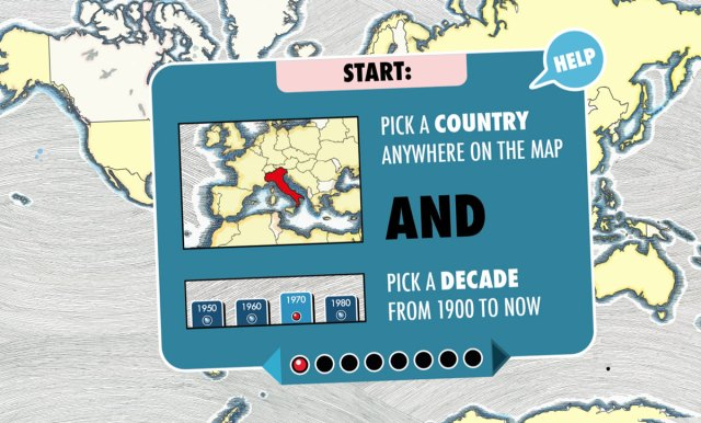 Radiooooo: Pick a country, pick a decade, and listen to the popular music of the era