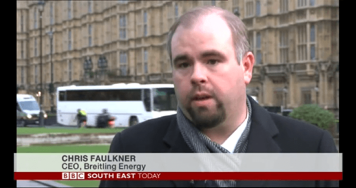 Chris Faulkner on the BBC.