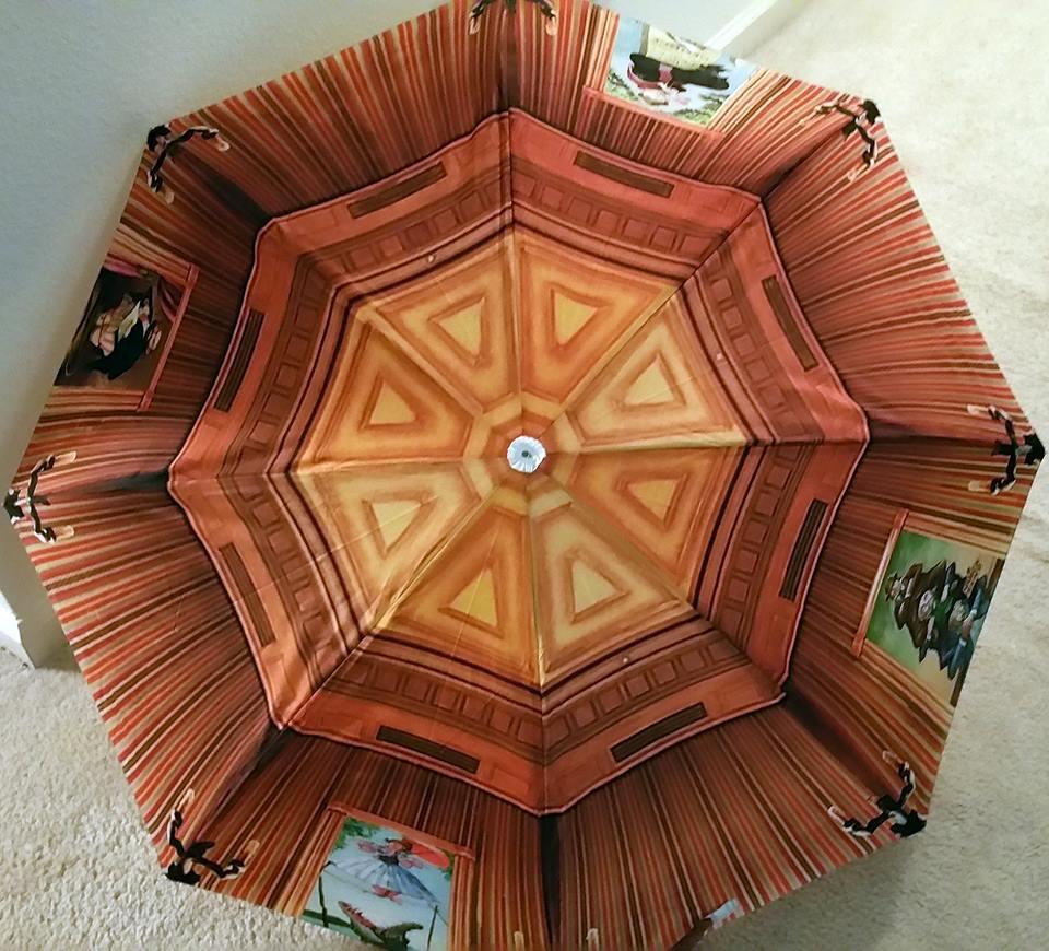 Haunted Mansion Umbrella Exterior