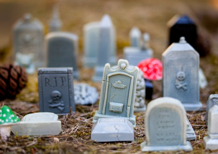 Nothing Says Death Is Precious Like A Miniature Fairy Graveyard