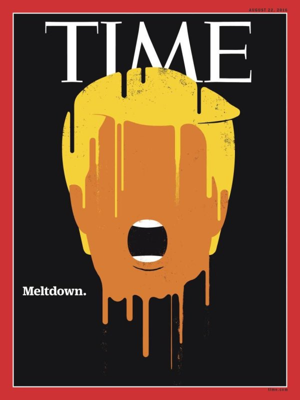 New Time magazine cover: Trump's meltdown / Boing Boing