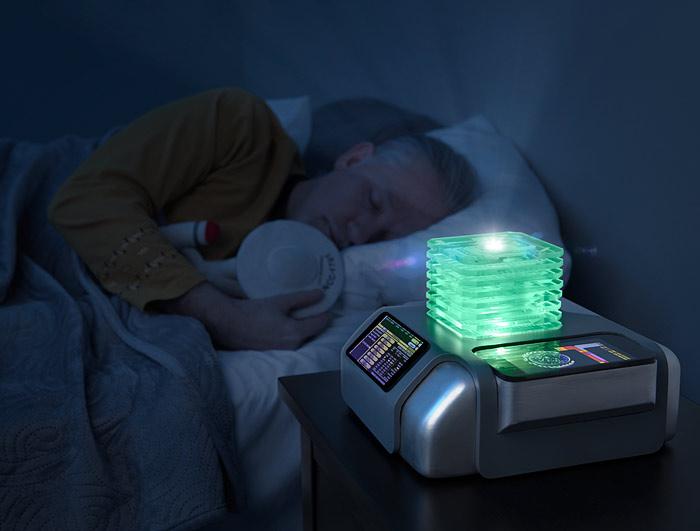 Star Trek White Noise Machine Starfield Projector Alarm