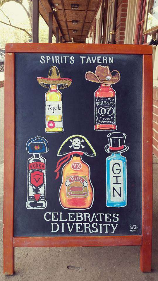 18 - Aside from having a great booze selection Spirits really is devoted to celebrating diversity
