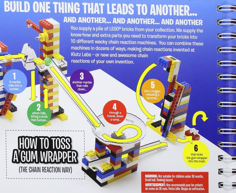 Lego chain reactions scholastic book