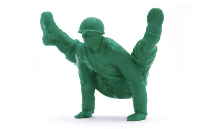 Little Green Army Men In Yoga Poses Boing Boing