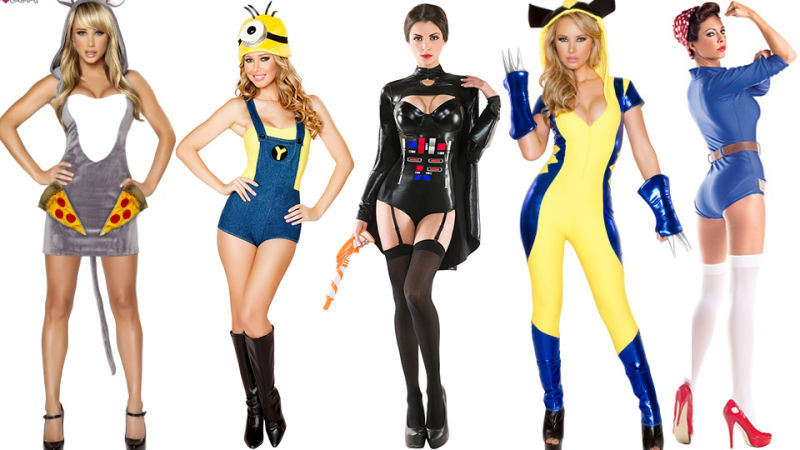heres a small sampling of the dozens of halloween costumes posted for the purpose of ridicule on io9
