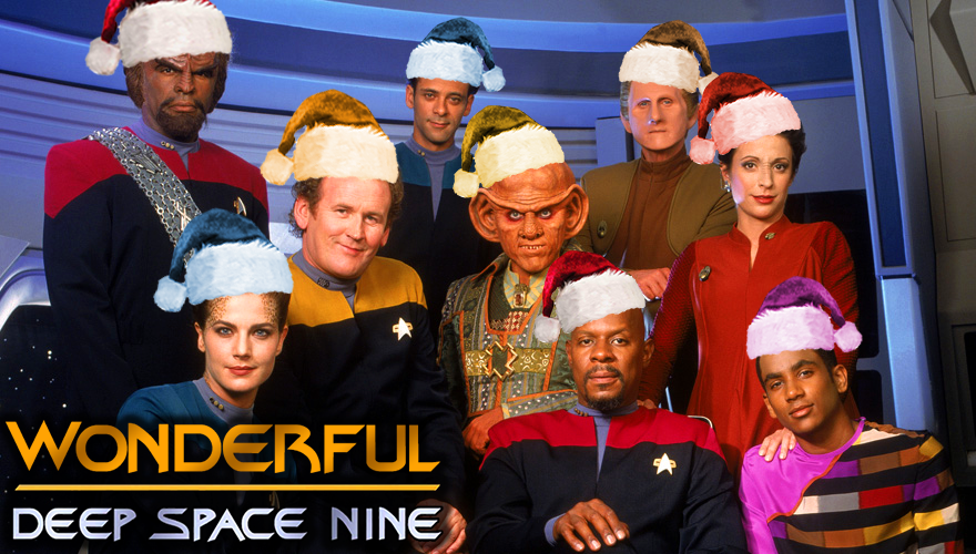 Watch The Star Trek Deep Space Nine Crew Sing A