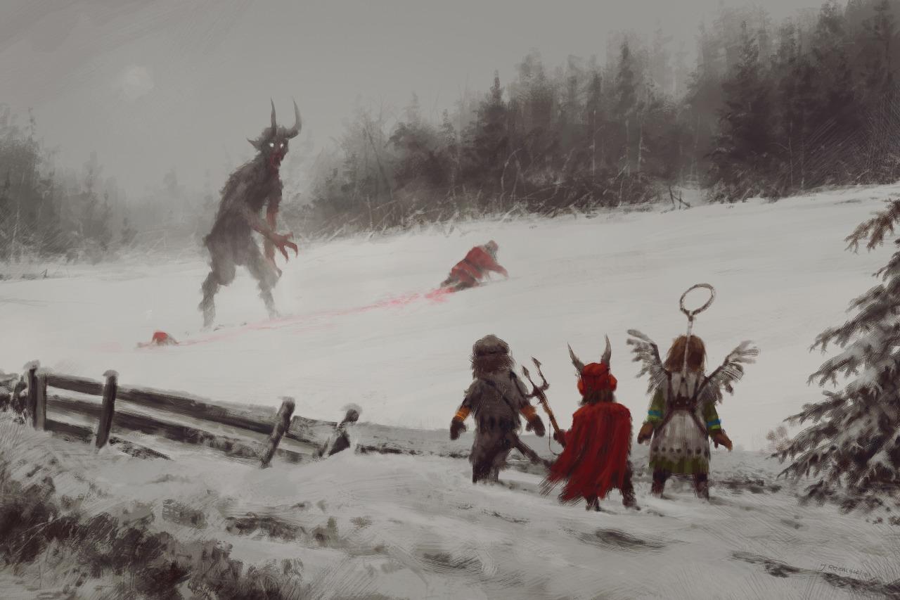 Merry Christmas! Love, Krampus