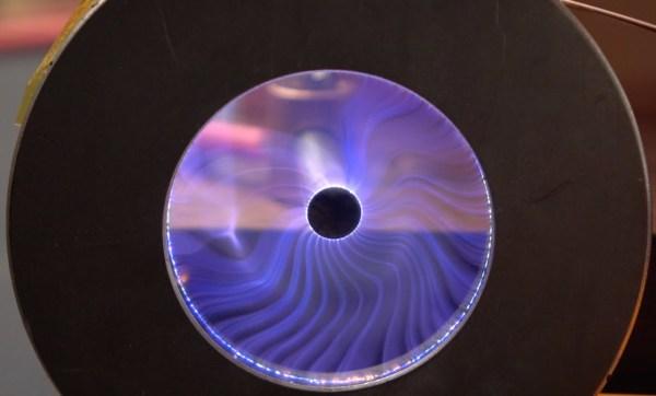 Fun with plasma vortex force fields