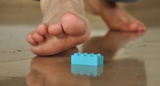 Why stepping on Legos hurts like hell