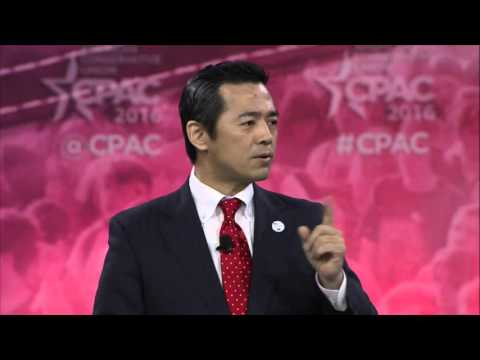 The CPAC replacement speaker for Milo Yiannopoulos was a notorious Japanese cult-member
