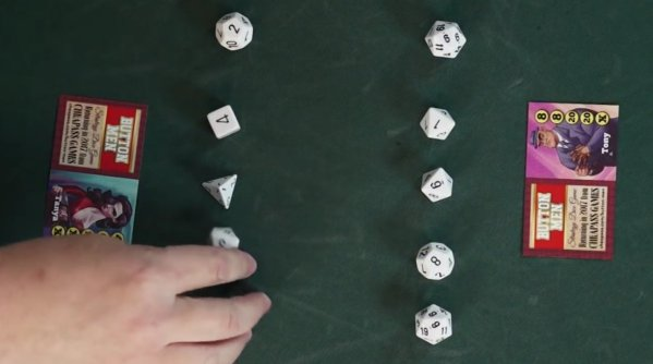 "Kickstarting a new edition of Cheapass Games's classic ""Button Men"""