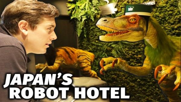 Take a trip inside Japans robot hotel
