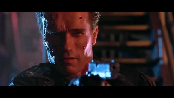 "What the Terminator says instead of ""Hasta La Vista, baby"" in the Spanish version of Terminator 2"