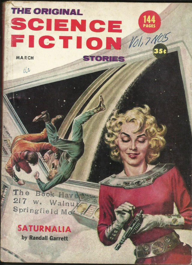 Sci-Fi Sundays: The Original Science Fiction Stories, March 1957