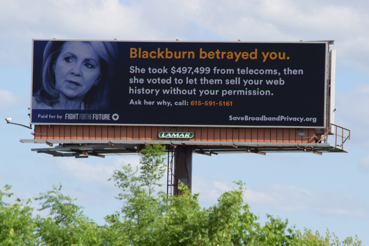Billboards Go Up Targeting Lawmakers Who Voted To Gut