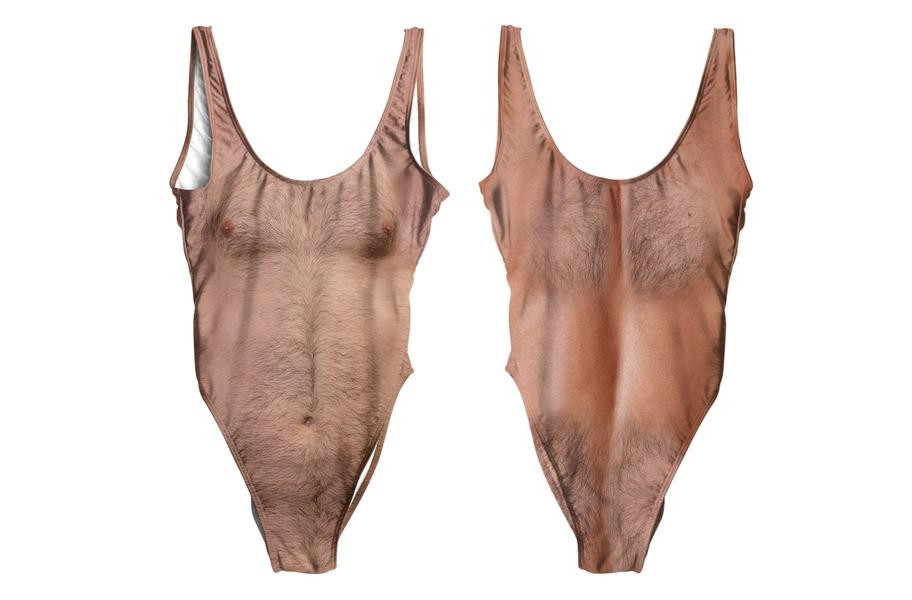 """""""Sexy Chest,"""" a one-piece bathing suit / Boing Boing"""