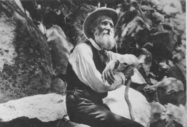 John Muir's 'adventure with a dog and a glacier'