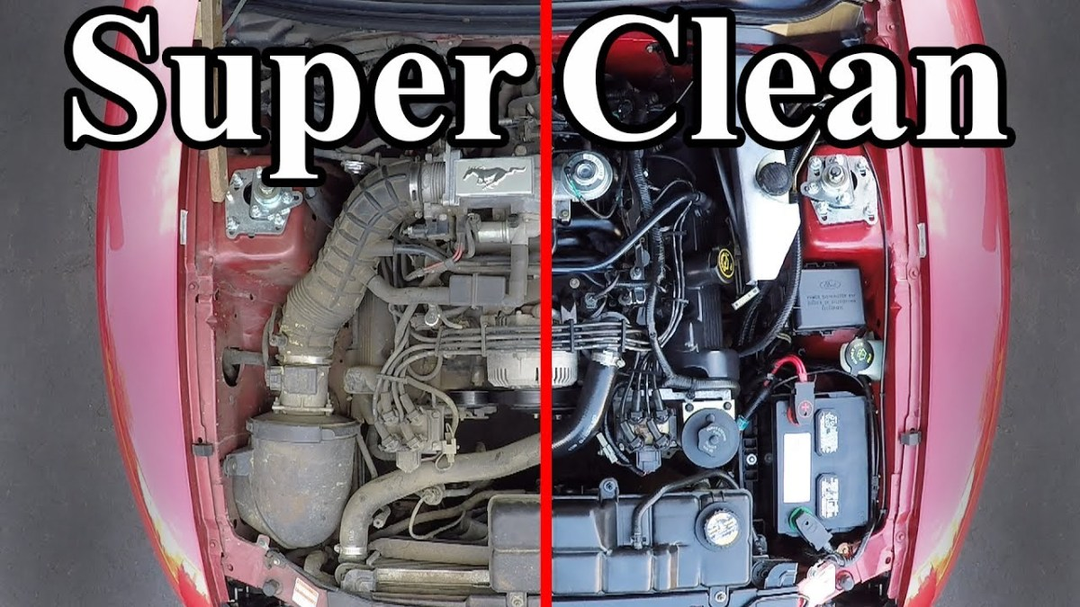 How to super clean your vehicle's engine bay