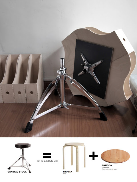 Make A Small Apartment Sized Storage Table From Ikea
