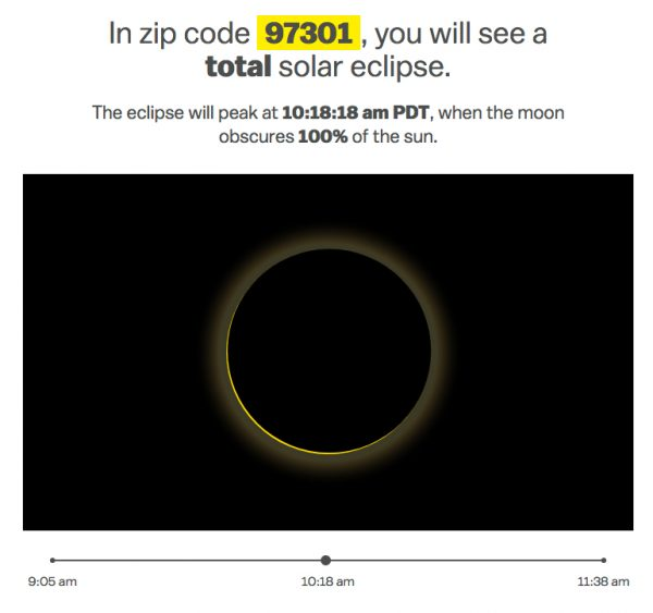 Preview what Monday's eclipse will look like in your ZIP Code