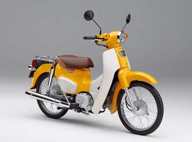 Honda's new classic Super Cub motorscooter looks as good today as it did 60 years ago