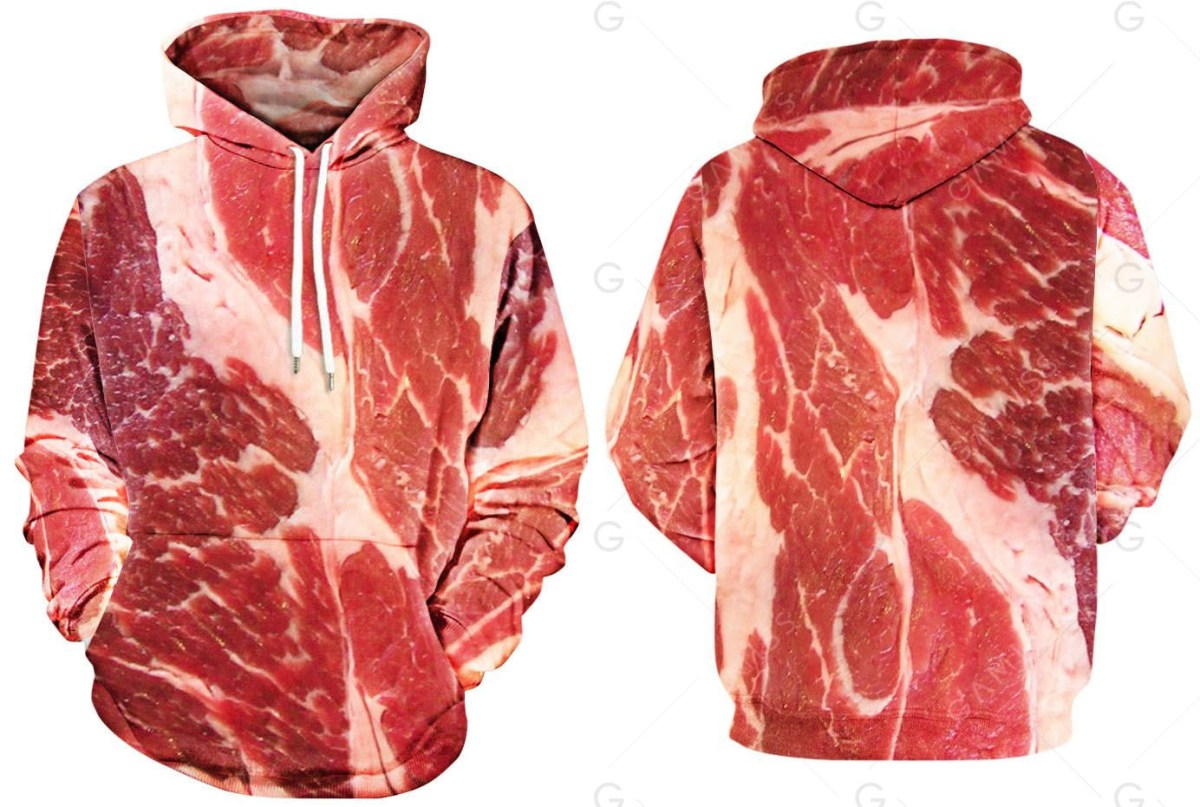 Raw Meat Hoodie Boing Boing